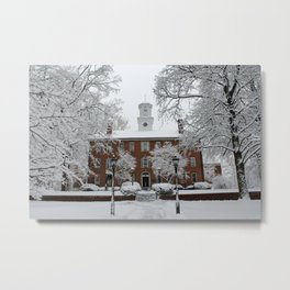 Winter at Ohio University - Cutler Metal Print