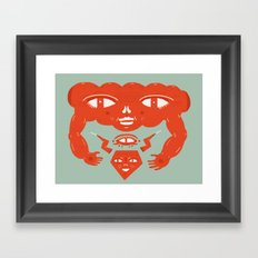 Cloud and Diamond II Framed Art Print