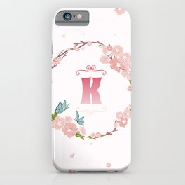 Letter K iPhone Case