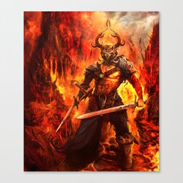 Tainted Sellsword  Canvas Print