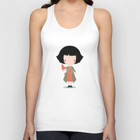 amelie Tank Tops featuring Amelie by Juice for Breakfast