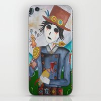 steampunk iPhone & iPod Skins featuring Steampunk by Lynne Gryphon