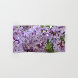 Lilac ~ Periwinkle Hand & Bath Towel