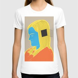 Cell in her head T-shirt