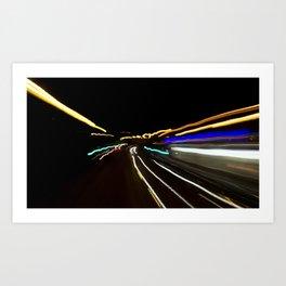 Street Light III - Shankill Art Print