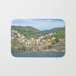 Cinque Terre Italy Bath Mat