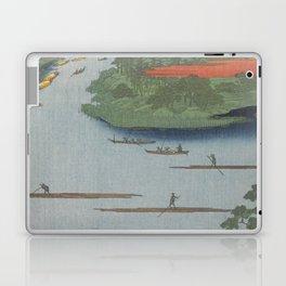 Summer River Mouth Ukiyo-e Japanese Art Laptop & iPad Skin