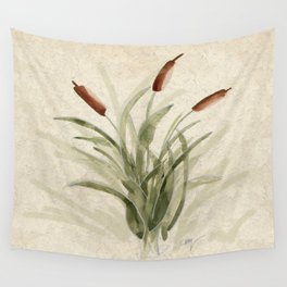 cattails 2 Wall Tapestry