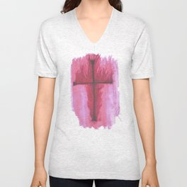 Praise the Lord  Unisex V-Neck