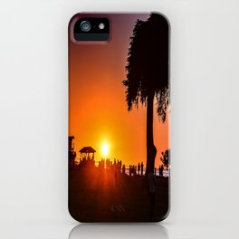 Saturday In The Park ( La Jolla Cove) iPhone Case