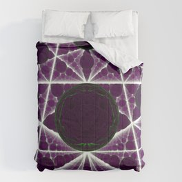 Delusions of a Multiverse - Purple Variant Comforters