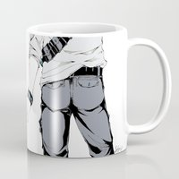 uncharted Mugs featuring Uncharted: Nate's Tea Break by seisei