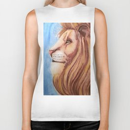 Lion of the Tribe of Judah Biker Tank