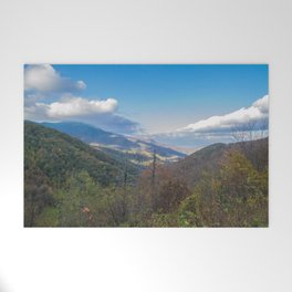 Blue Ridge Peaks Welcome Mat