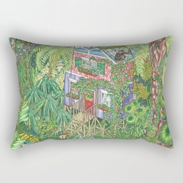 The House That Moved p.11 Rectangular Pillow