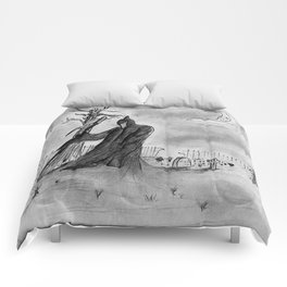 Mourning Comforters