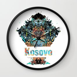 Kosovo Awesome Country gift Wall Clock