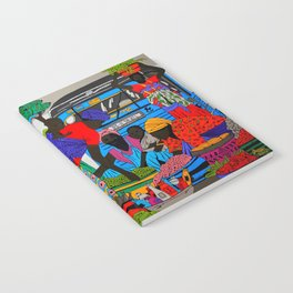 African marketplace 2 Notebook