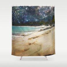Midnight Beach Shower Curtain