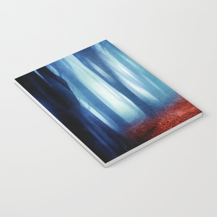 In The Mist she Was Standing Notebook