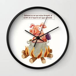 Cerdito. Wall Clock