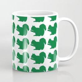 Squirrel Pattern Coffee Mug
