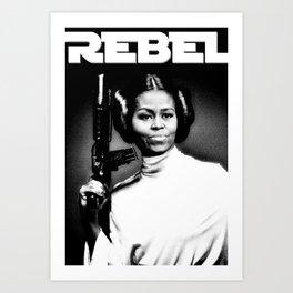 REBEL Art Print