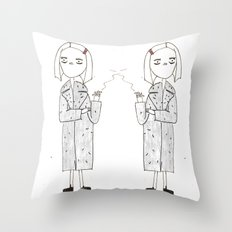 the royal tenenbaums - margot Throw Pillow