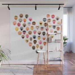 Vulva Heart Wall Mural