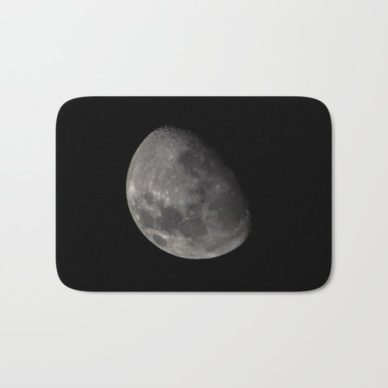 Quarter Moon Bath Mat