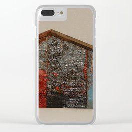 Reclaimed Wood House 11 Sculpture by Annalisa Ramondino Clear iPhone Case