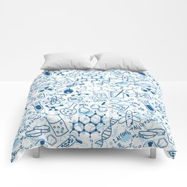 School chemical pattern #2 Comforters
