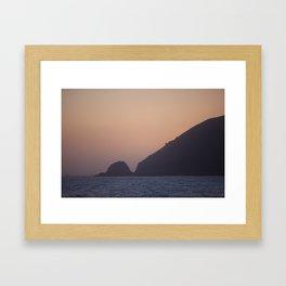 Point Mugu Sunset Framed Art Print