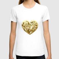 clockwork T-shirts featuring Clockwork Heart by Roman Maisei