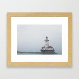 The Chicago Lighthouse Framed Art Print