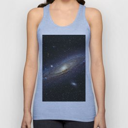 The Andromeda Galaxy Unisex Tank Top