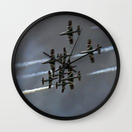 Air formation Wall Clock