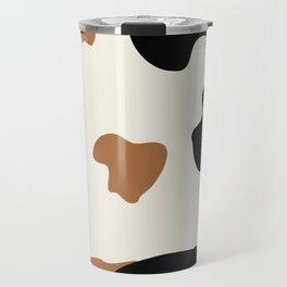 Cowhide Pattern Travel Mug