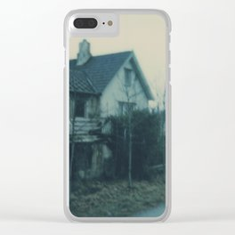 A home Clear iPhone Case