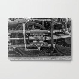 Driven Metal Print