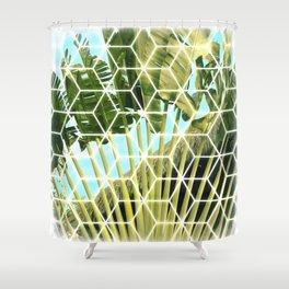 Polynesian Palm Shower Curtain