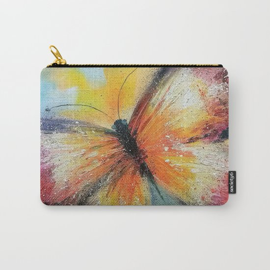 Butterfly on the rise Carry-All Pouch