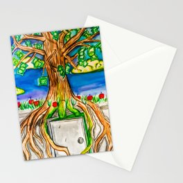 Root of Evil Stationery Cards