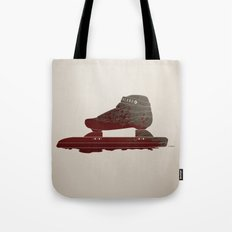 Bloody Skating - The Race is Over Tote Bag