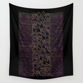 Furr Division Glitch Wall Tapestry