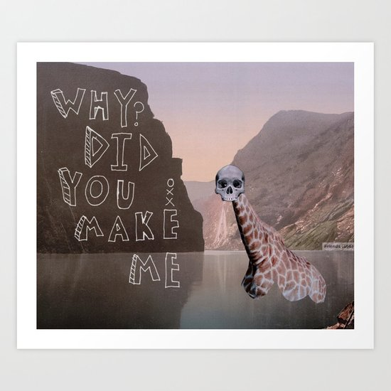 Dear Mom Art Print