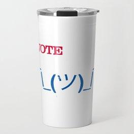 Apathetic Together Travel Mug