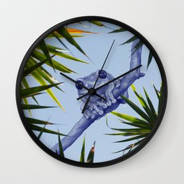 A summer kinda feeling Wall Clock