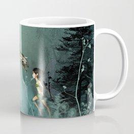 Cute fairy with steam dragon Coffee Mug