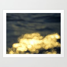 Sea by Boone Speed Art Print